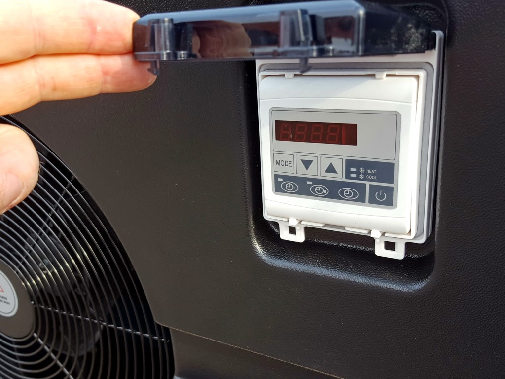 Hydro-Pro 5,5 kW Black ABS - Poolklor.com