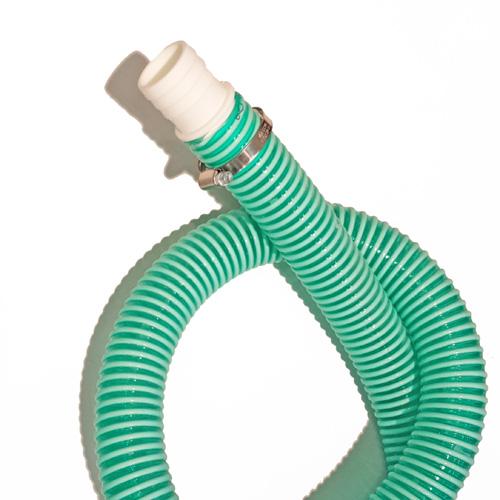 Populära Poolsugslang grön 38 mm per meter - Poolklor.com ET-73